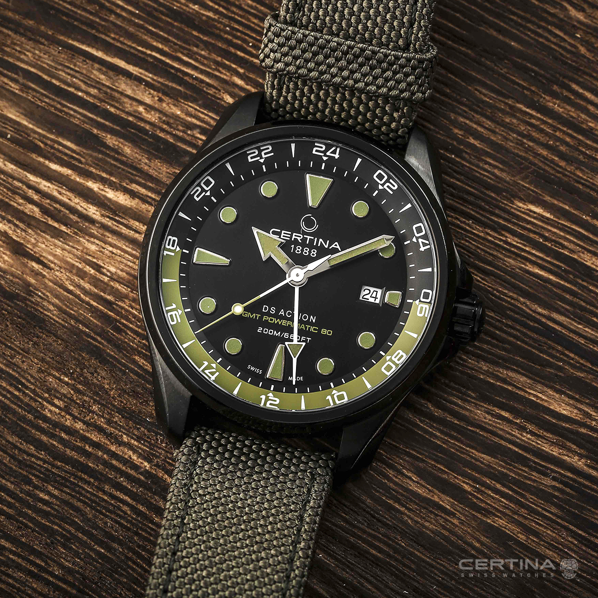Certina DS Action GMT 2