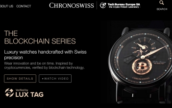 Chronoswiss Blockchain Cover