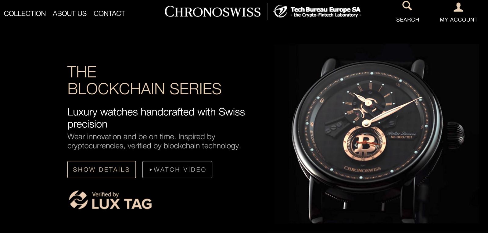 Chronoswiss Blockchain Cover