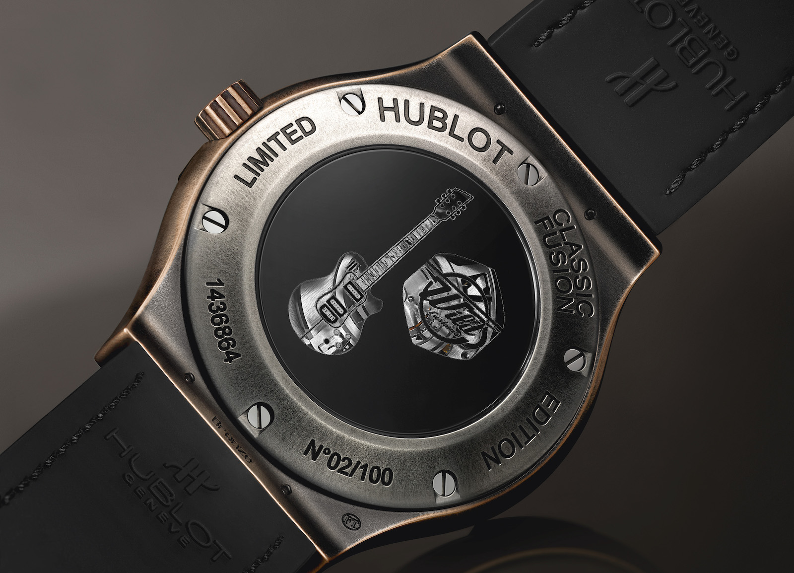 Hublot Classic Fusion Wild Customs - caseback