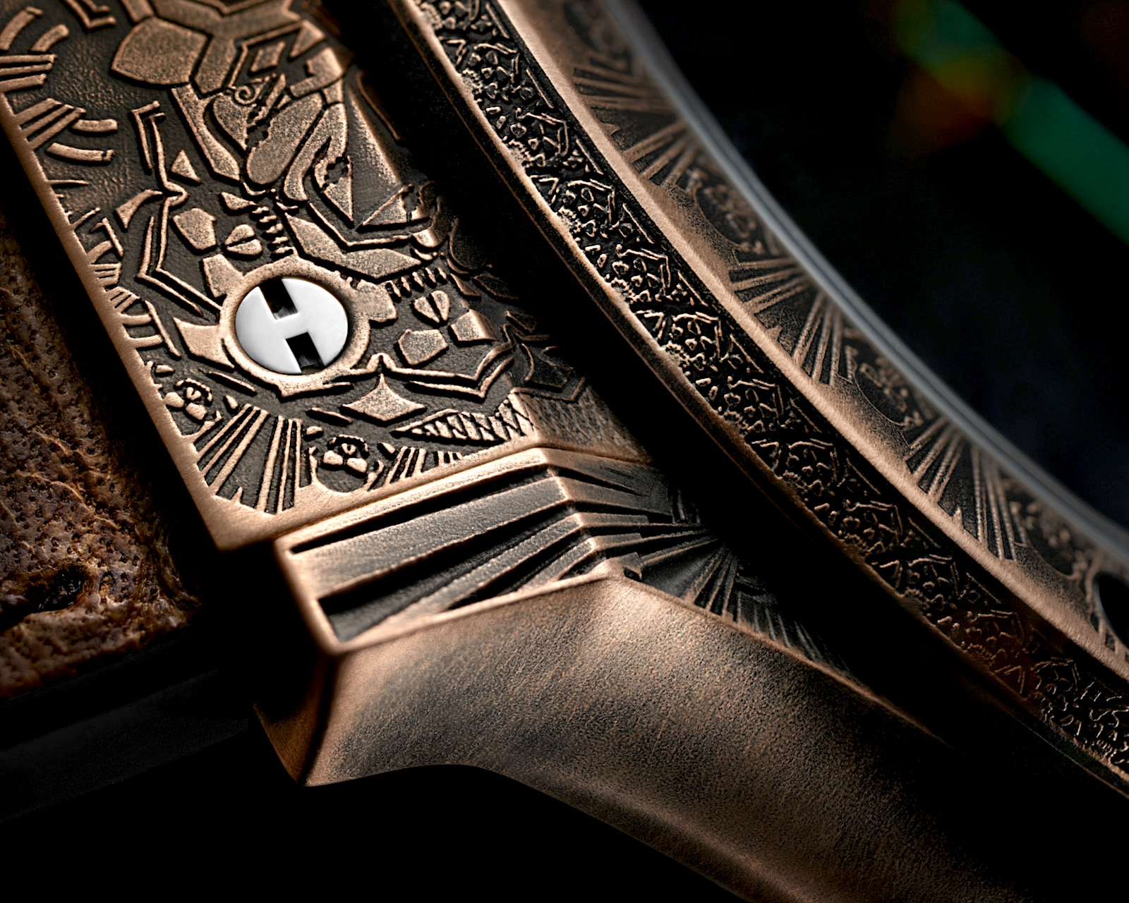 Hublot Classic Fusion Wild Customs - detalle