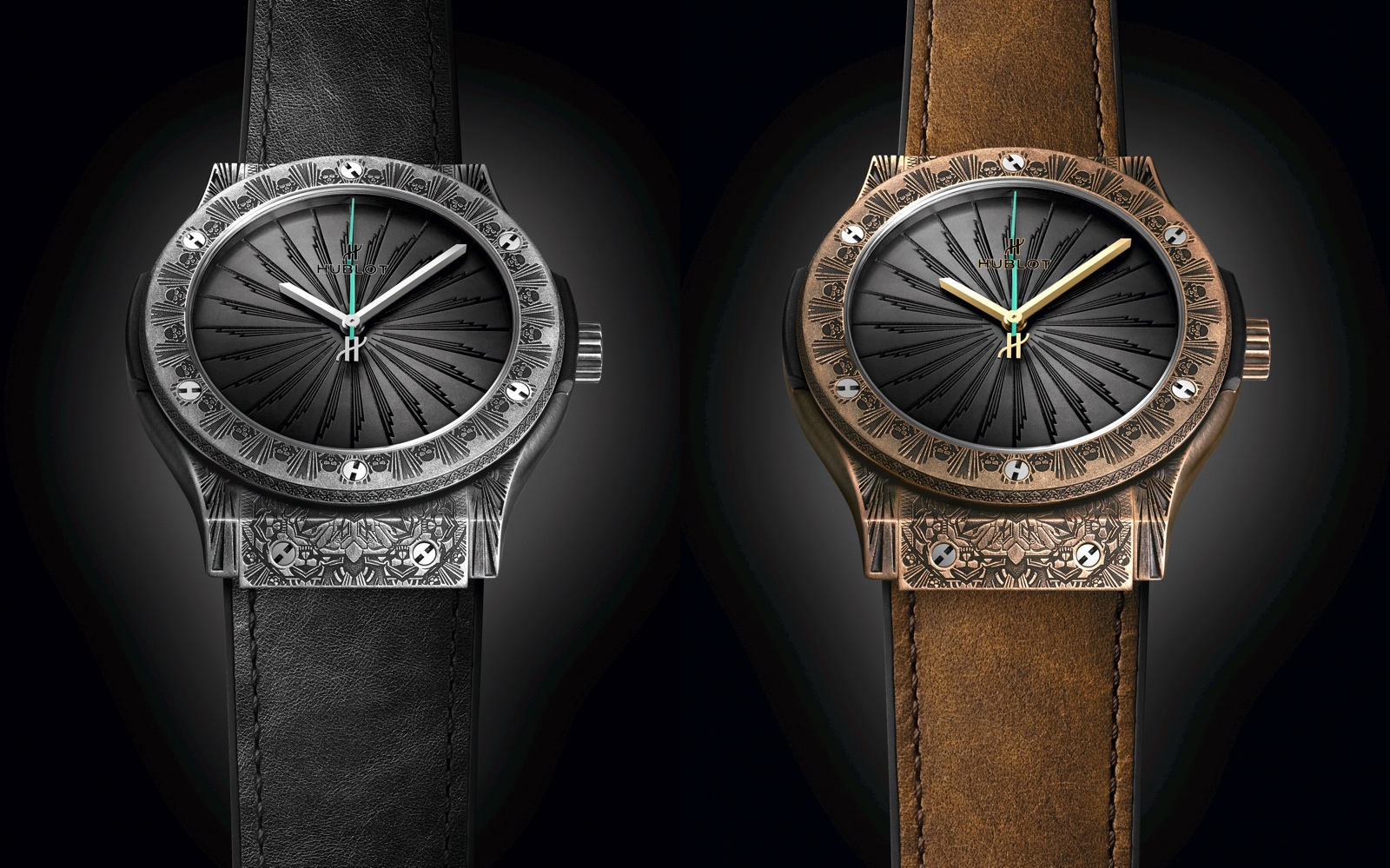 Hublot Classic Fusion Wild Customs - duo
