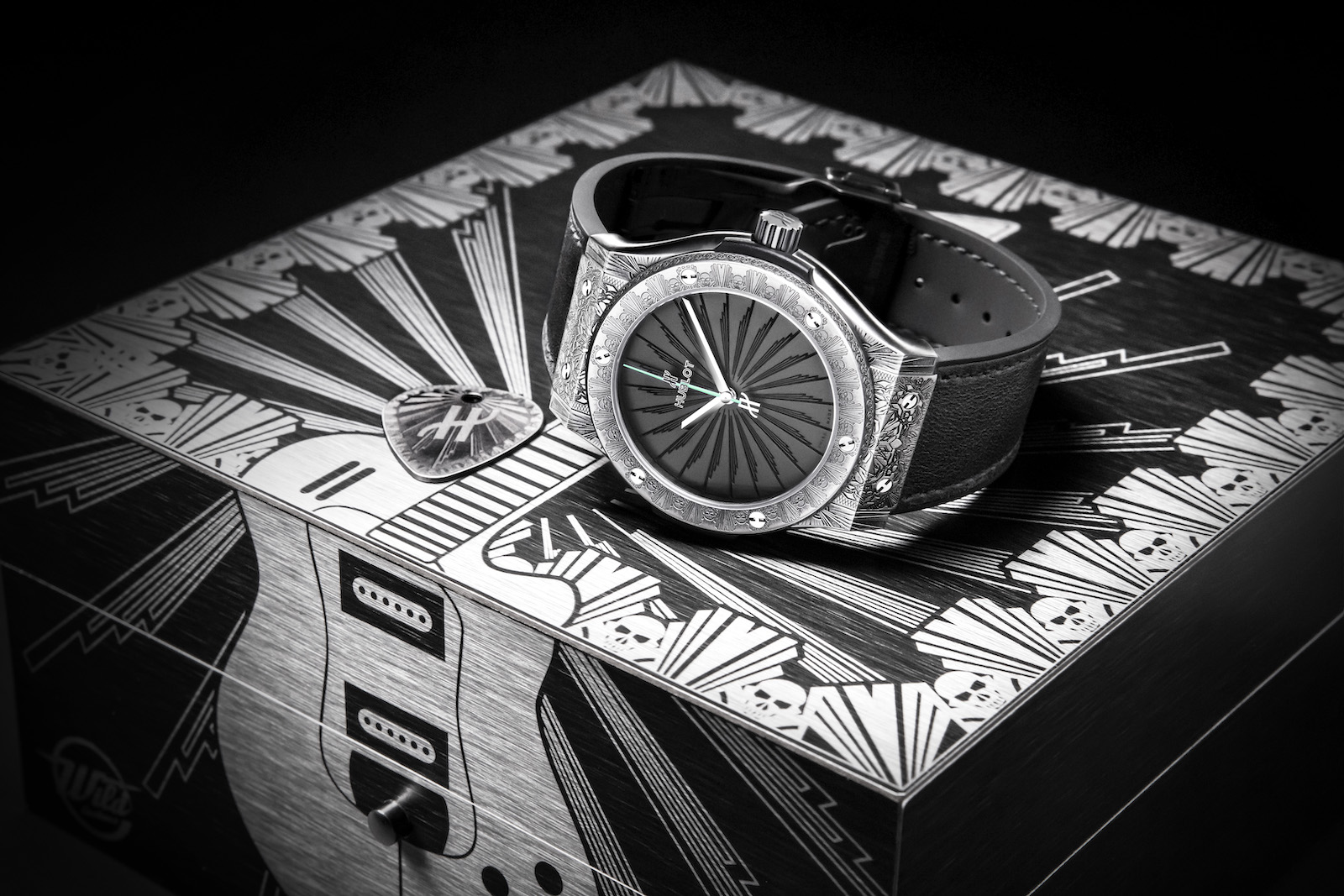 Hublot Classic Fusion Wild Customs - estuche