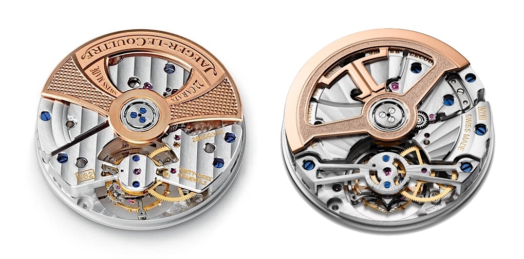 Jaeger-LeCoultre Master Ultra Thin Tourbillon Pink Gold - calibre 982 vs 978