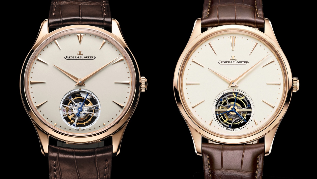 Jaeger-LeCoultre Master Ultra Thin Tourbillon Pink Gold - duo