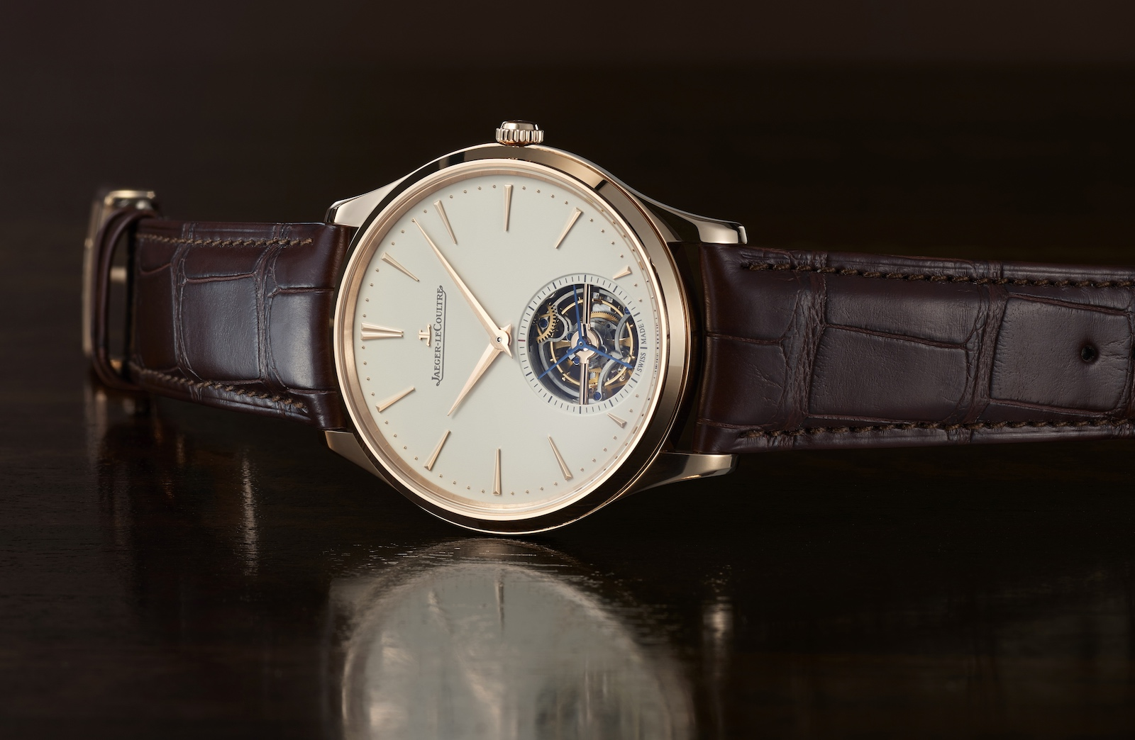 Jaeger-LeCoultre Master Ultra Thin Tourbillon Pink Gold