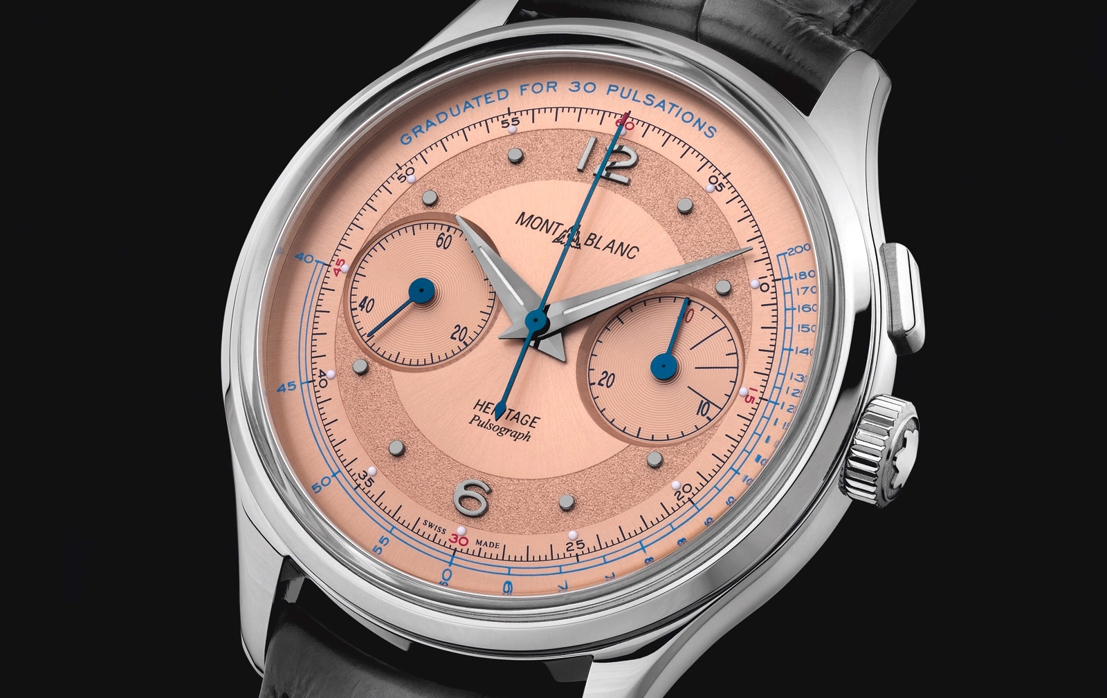 Montblanc Heritage Manufacture Pulsograph