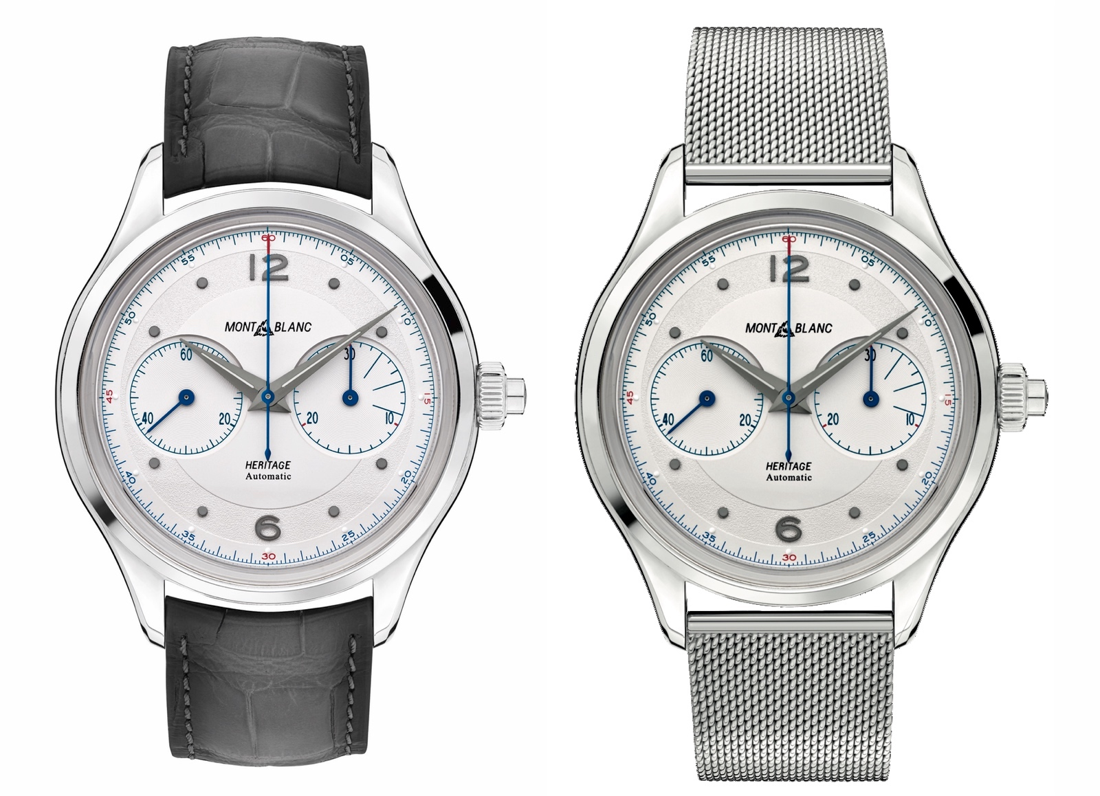 Montblanc Heritage Monopusher Chronograph Referencias