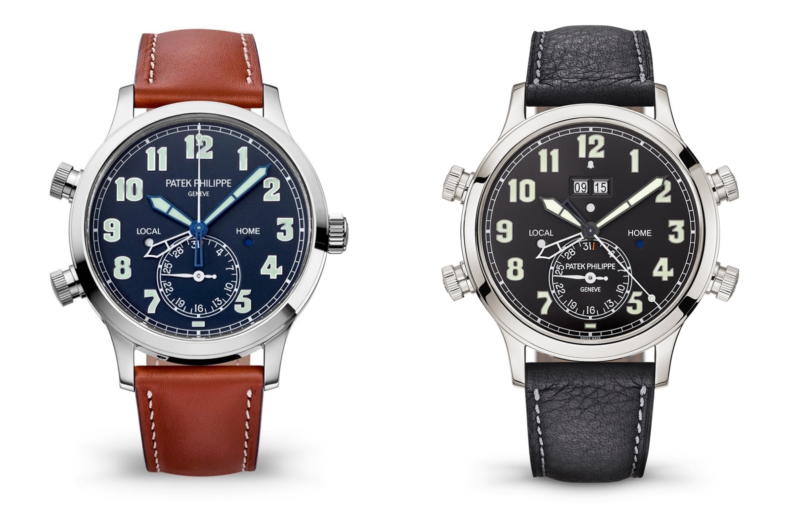 Patek Philippe 5520P Alarm Travel Time - 5524G vs 5520P