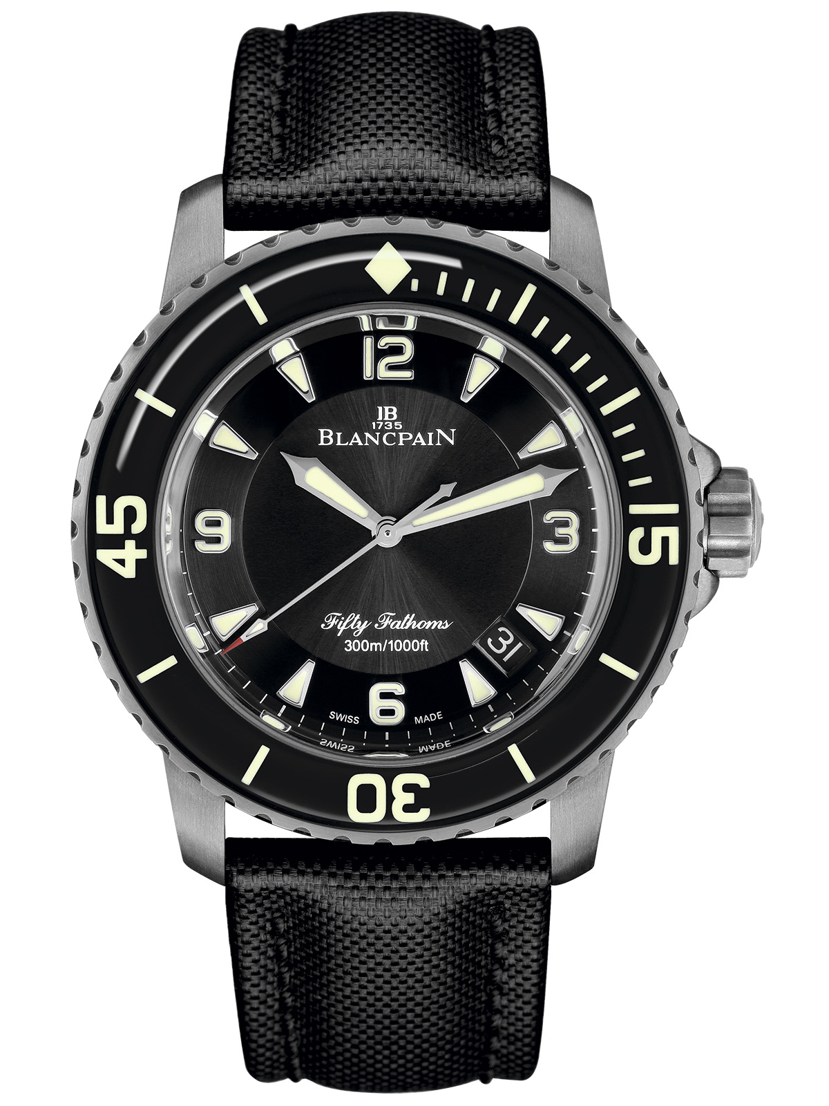 Blancpain Fifty Fathoms Automatique (Titanium case)