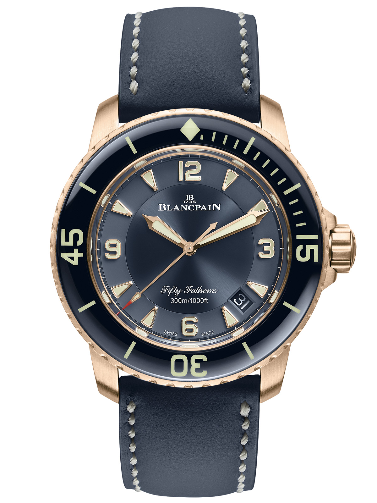 Blancpain Fifty Fathoms Automatique (Ceramic dial)