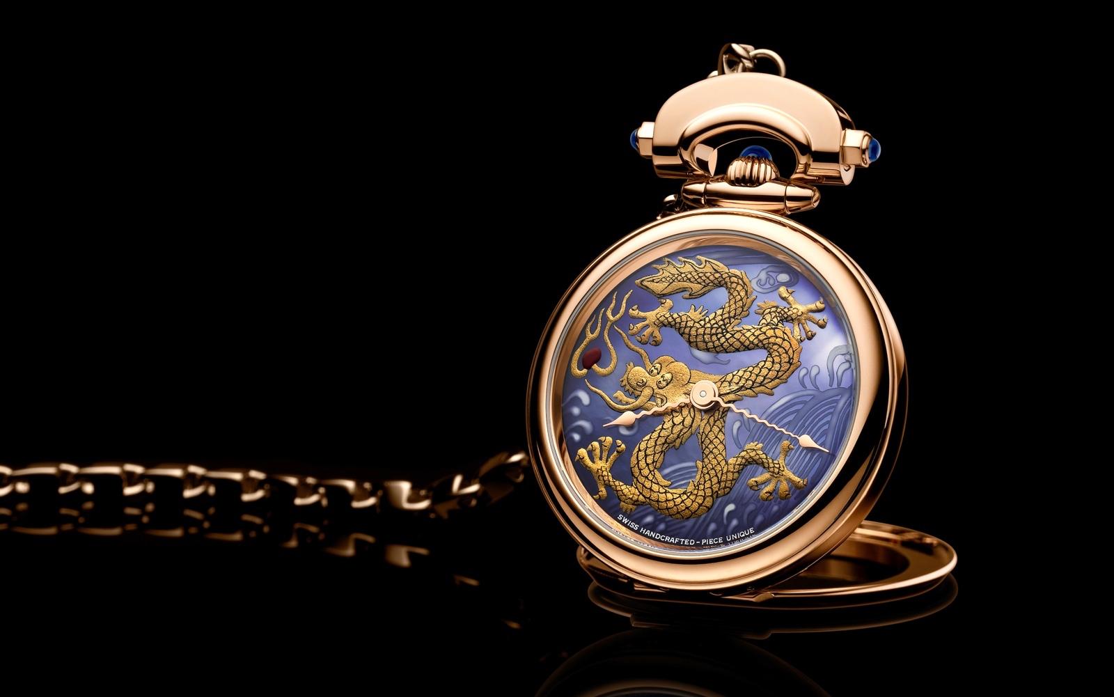 Bovet 1822 Amadéo Fleurier 43 Dragón Dorado 1