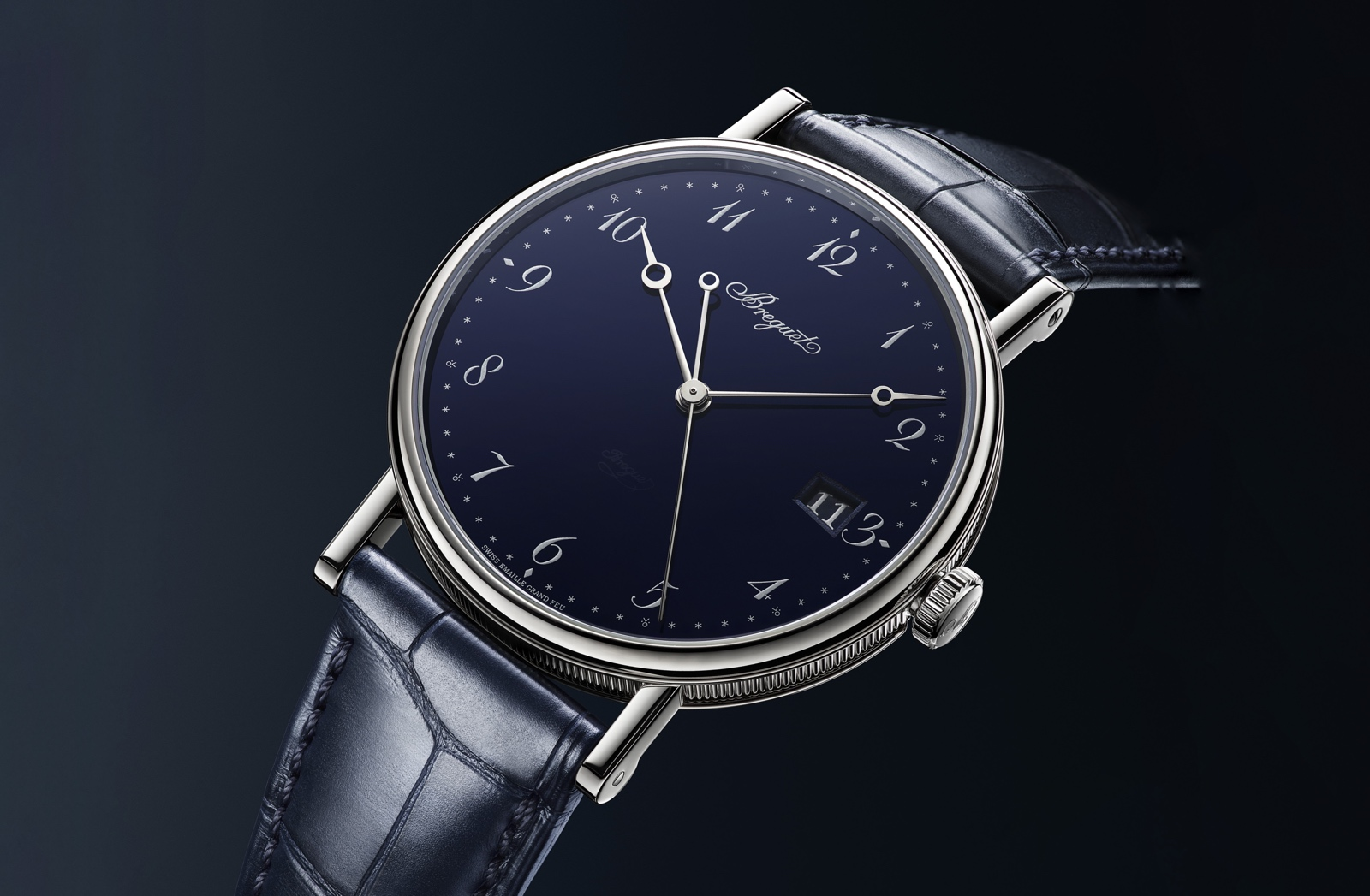 Breguet en el Time to Move 2019 - Classique 5177 Blue Enamel