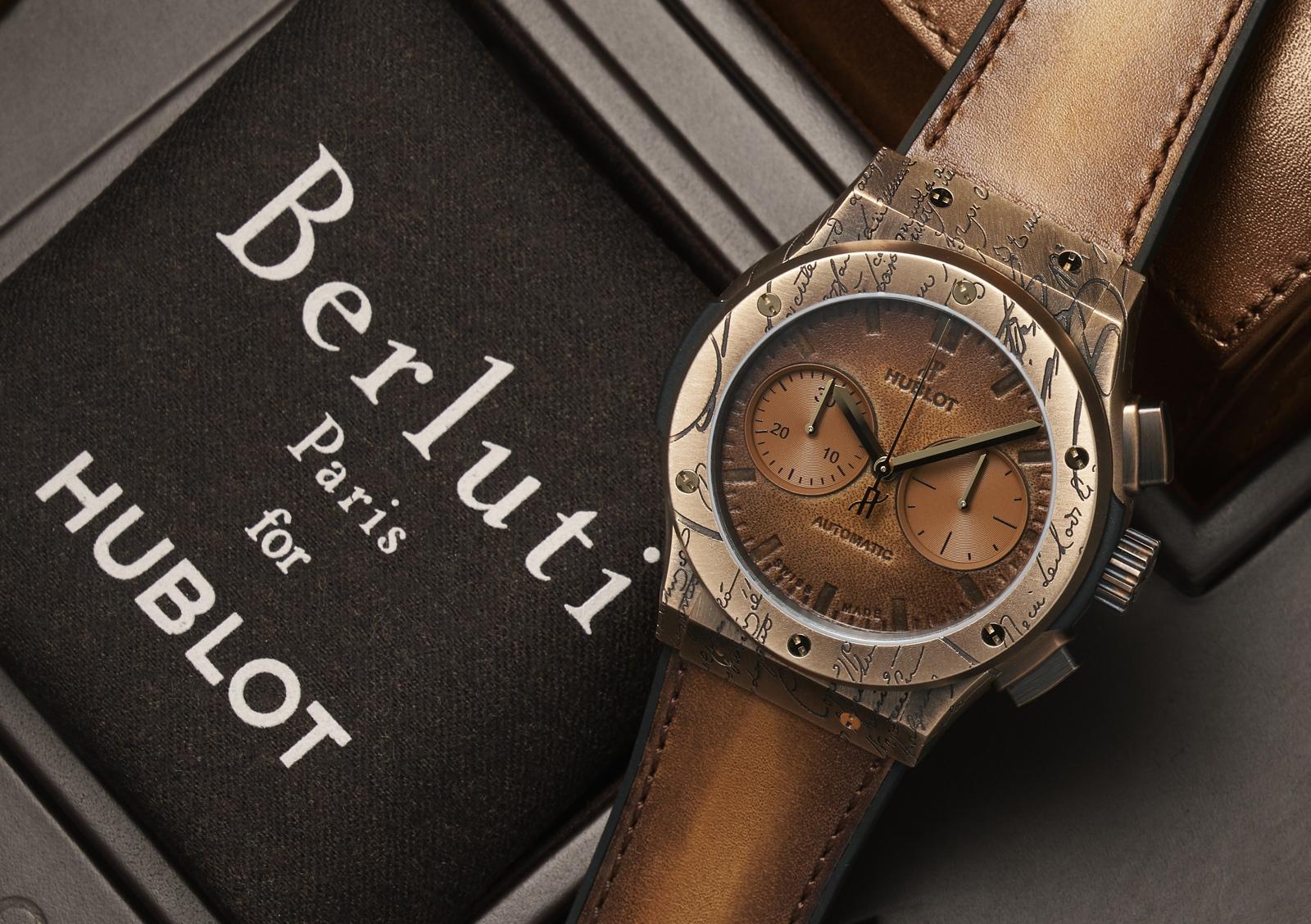 Hublot Classic Fusion Chronograph Berluti - bronce