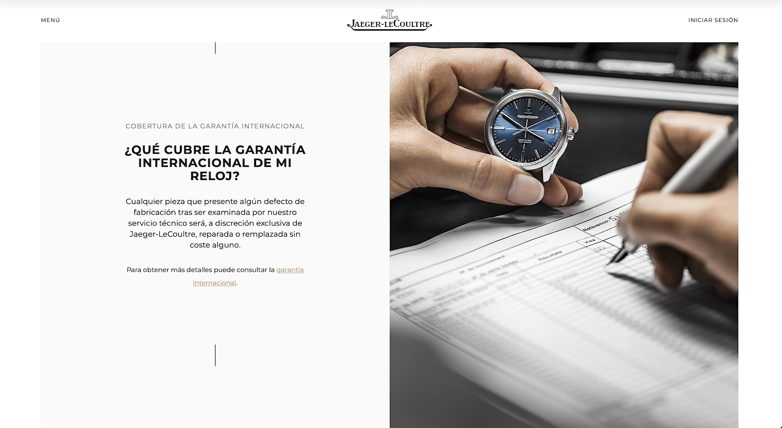 Jaeger-LeCoultre Care Program - web 03