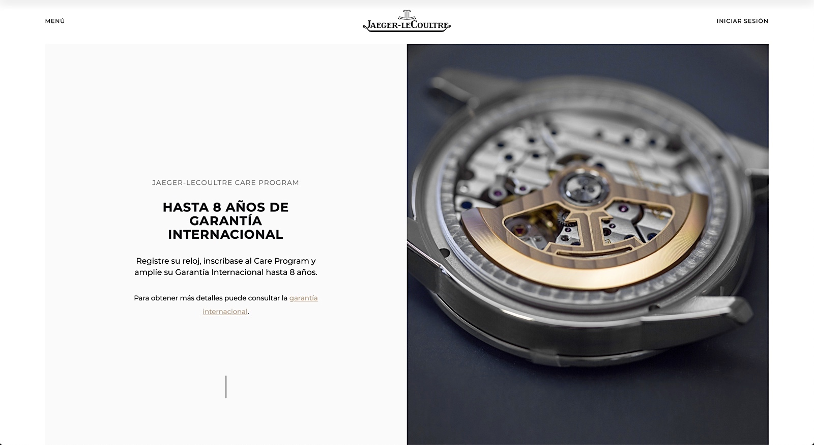 Jaeger-LeCoultre Care Program - web 07