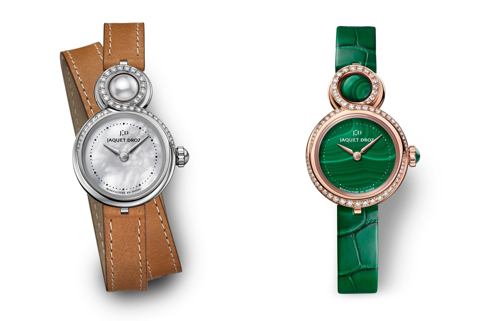 Jaquet Droz en el Time to Move 2019 - Lady 8 Petite duo