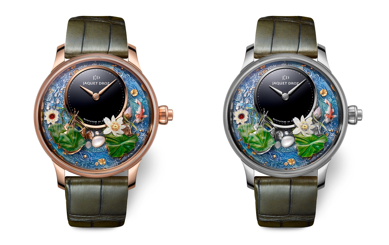 Jaquet Droz en el Time to Move 2019 - Magic Lotus Automaton duo