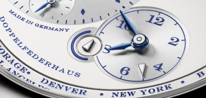 Lange 1 Time Zone «25th Anniversary» Edition.