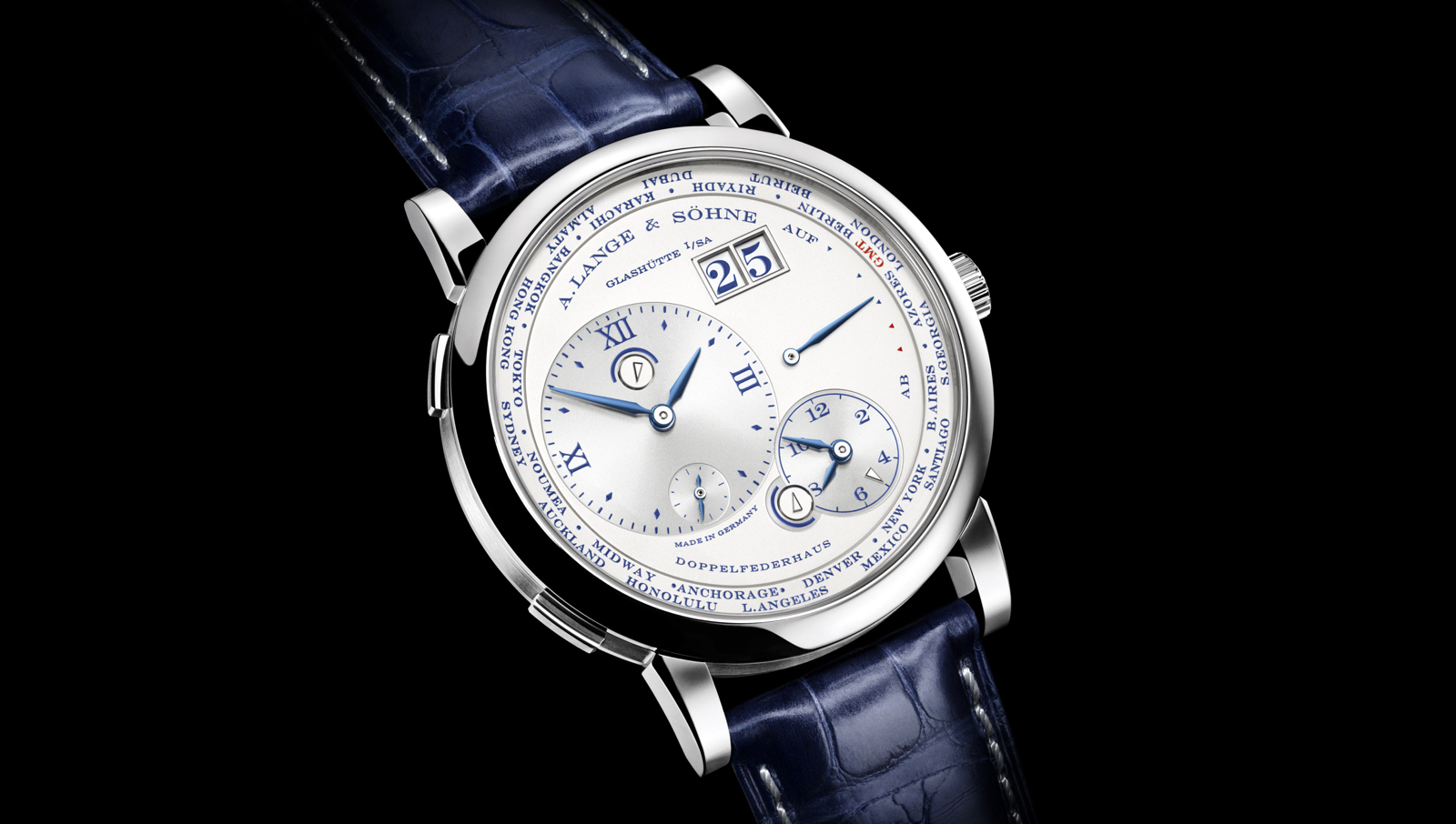 Lange 1 Time Zone 25 Anniversary Edition