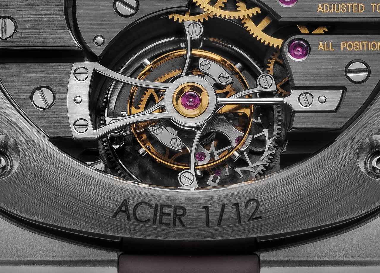 Laurent Ferrier Tourbillon Grand Sport - back detail
