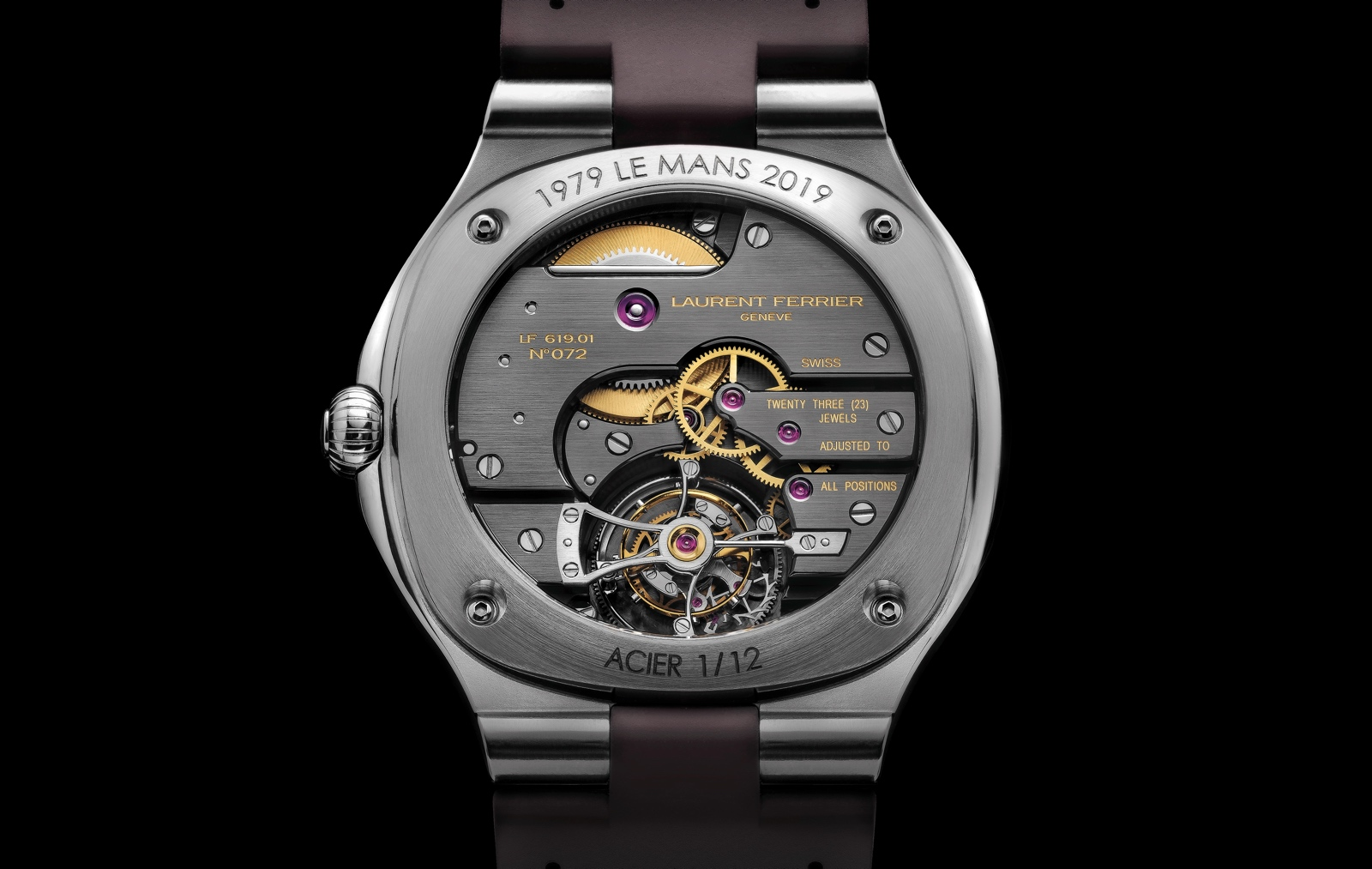 Laurent Ferrier Tourbillon Grand Sport - back