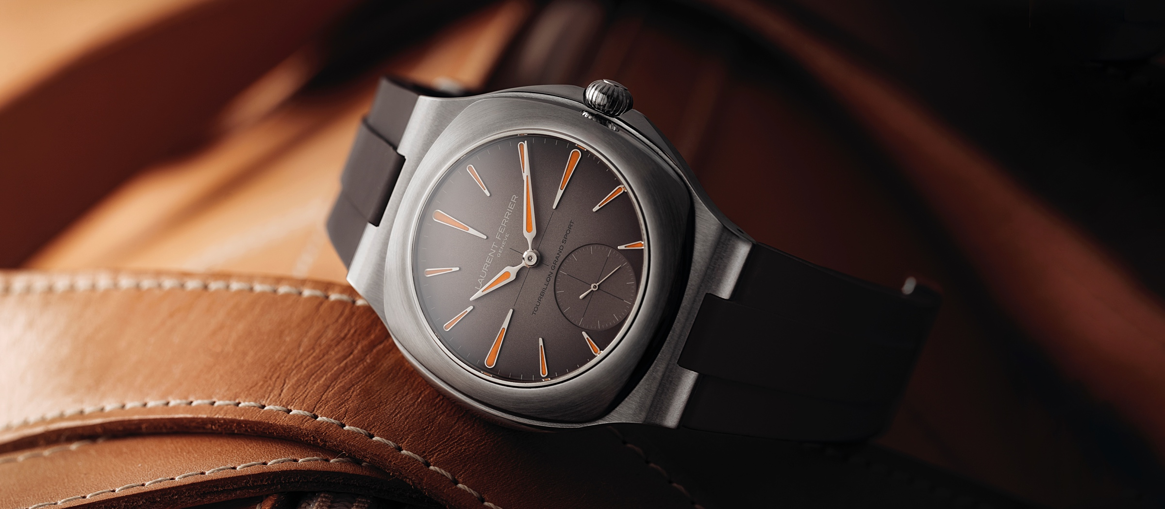 Laurent Ferrier Tourbillon Grand Sport - cover
