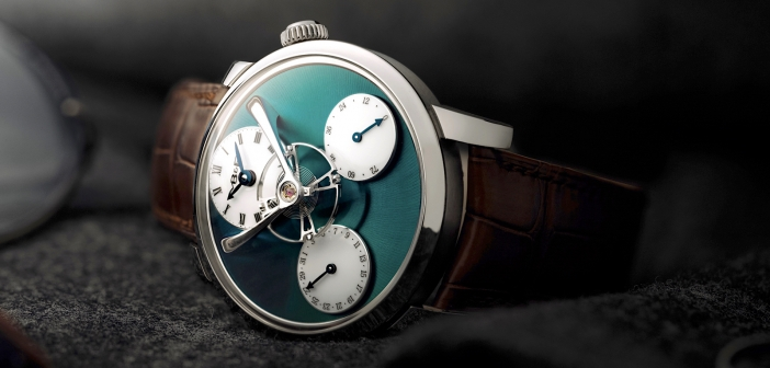 MB&F Legacy Machine Split Escapement Titanium Green.