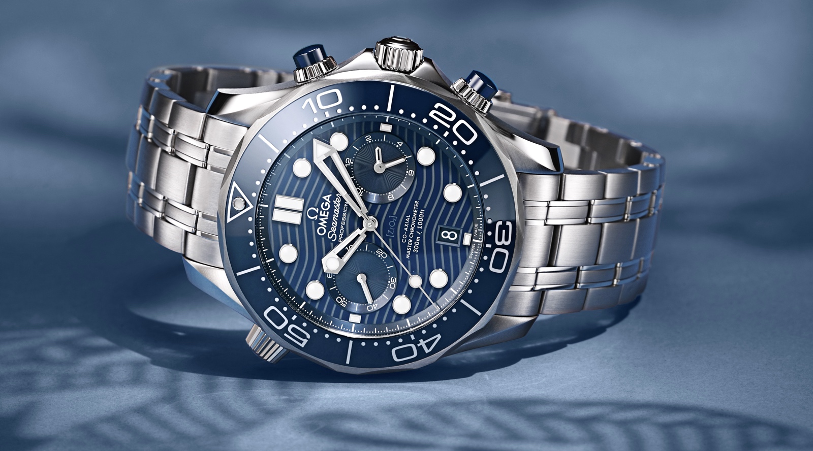 Omega Seamaster Diver 300M Chronograph Steel
