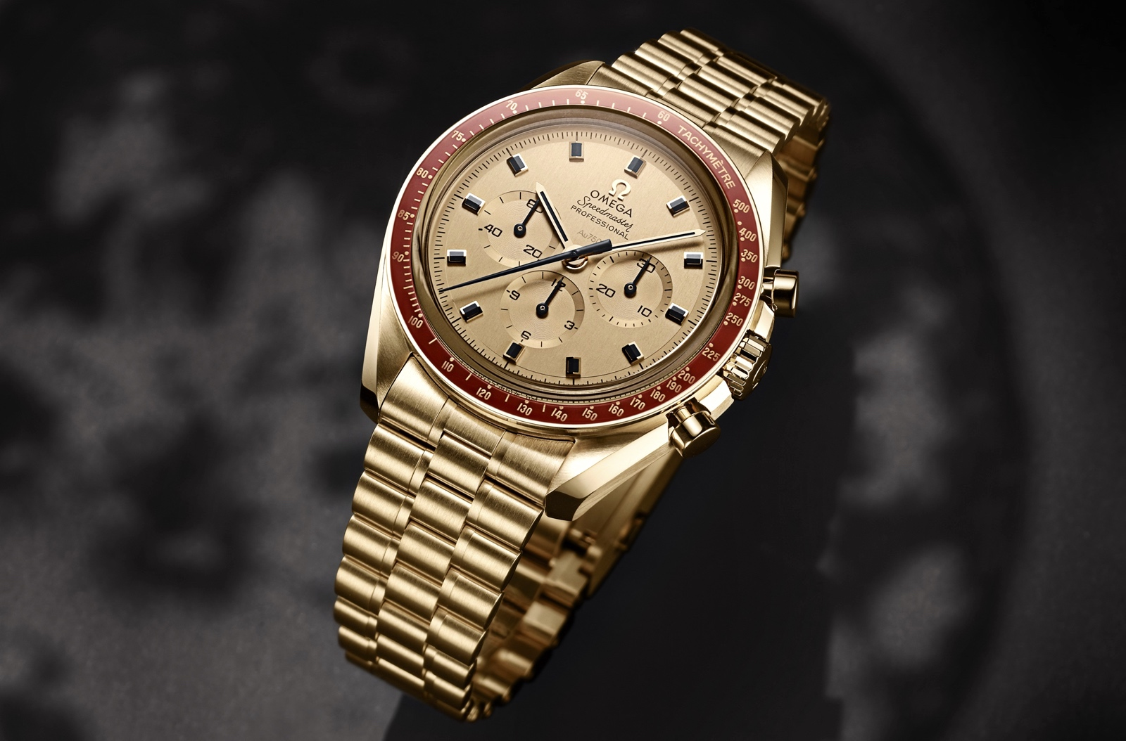 Omega Speedmaster Apollo 11 50th Anniversary Moonshine Gold
