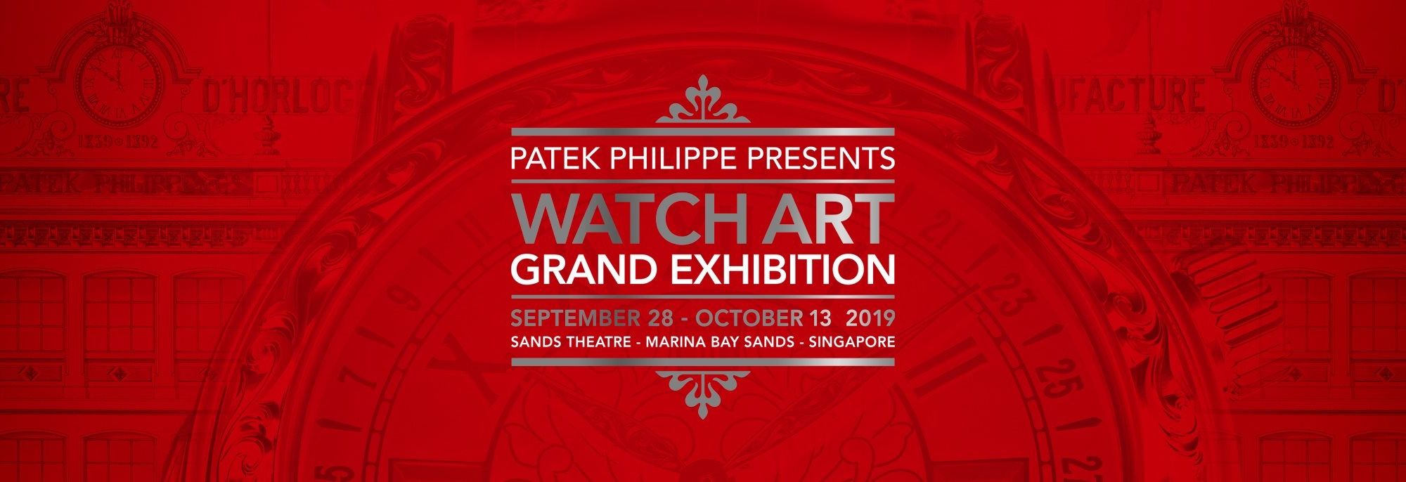 Patek Philippe viaja a Singapore - Watch Art Grand Exhibition Singapore 2019 - cover2