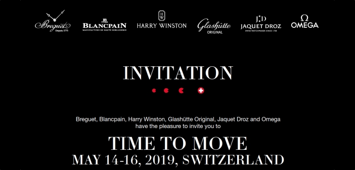 Time to Move, el primer Baselworld particular de Swatch Group.