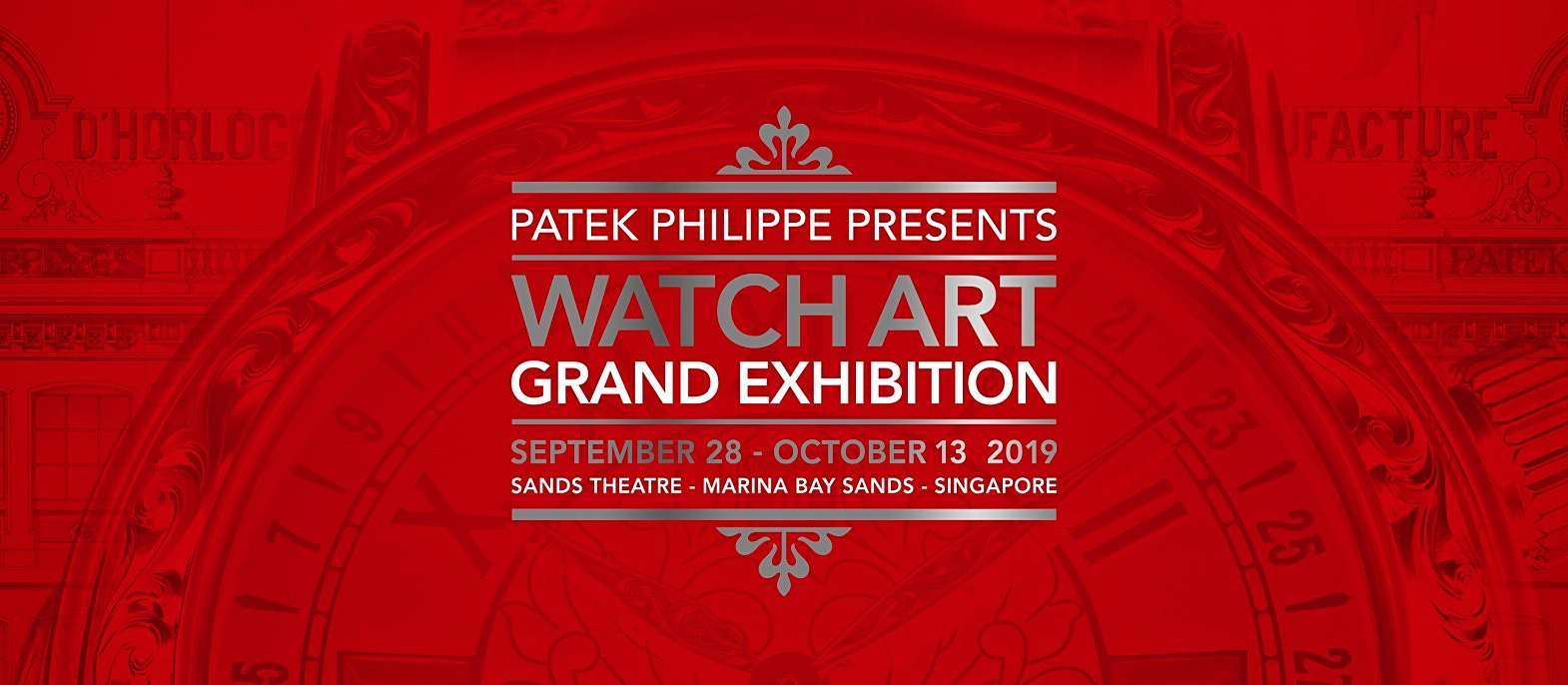 Patek Philippe Watch Art Grand Exhibition Singapore 2019 - cover3