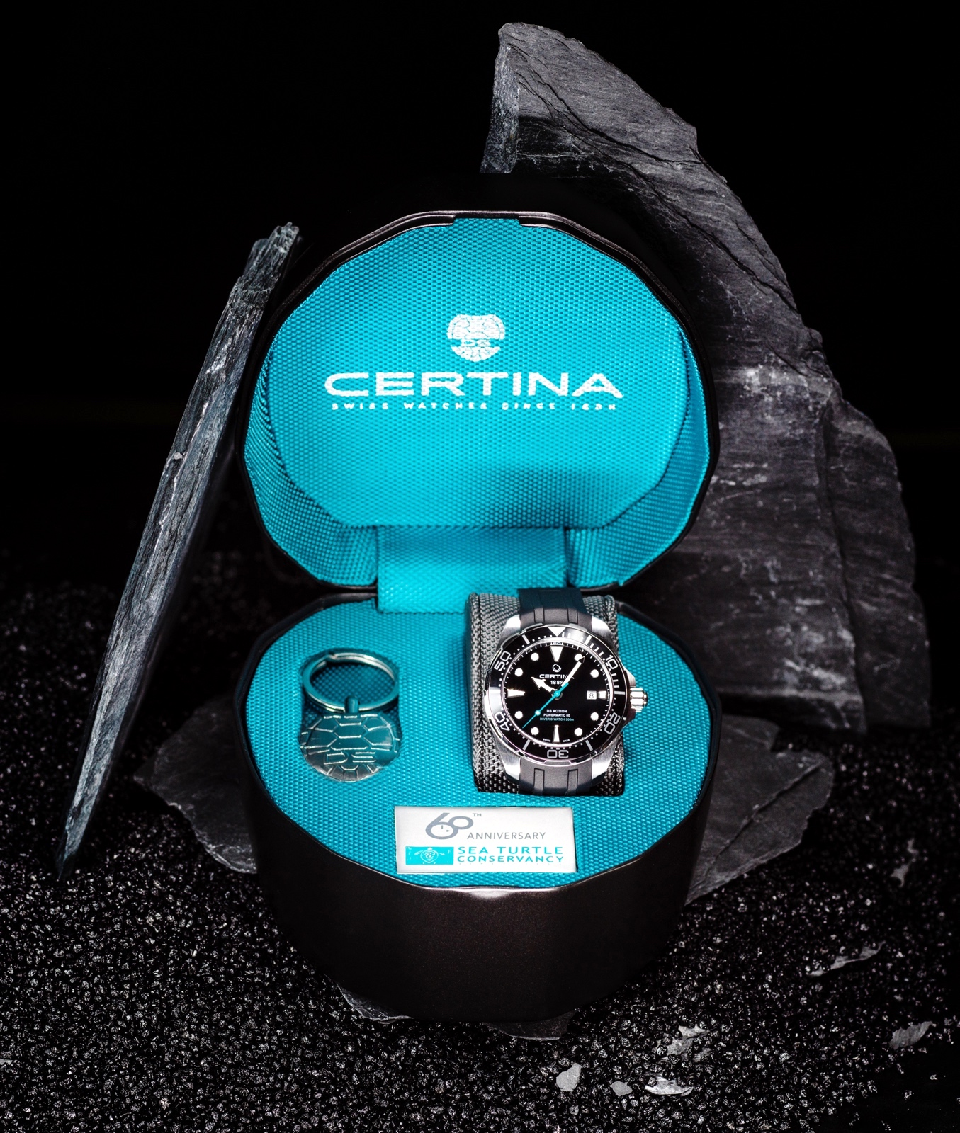 Certina DS Action Diver Sea Turtle Estuche