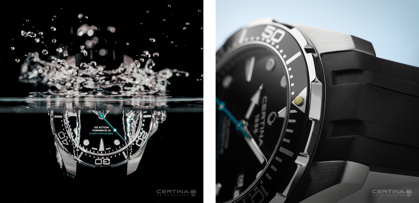 Certina DS Action Diver Sea Turtle Views
