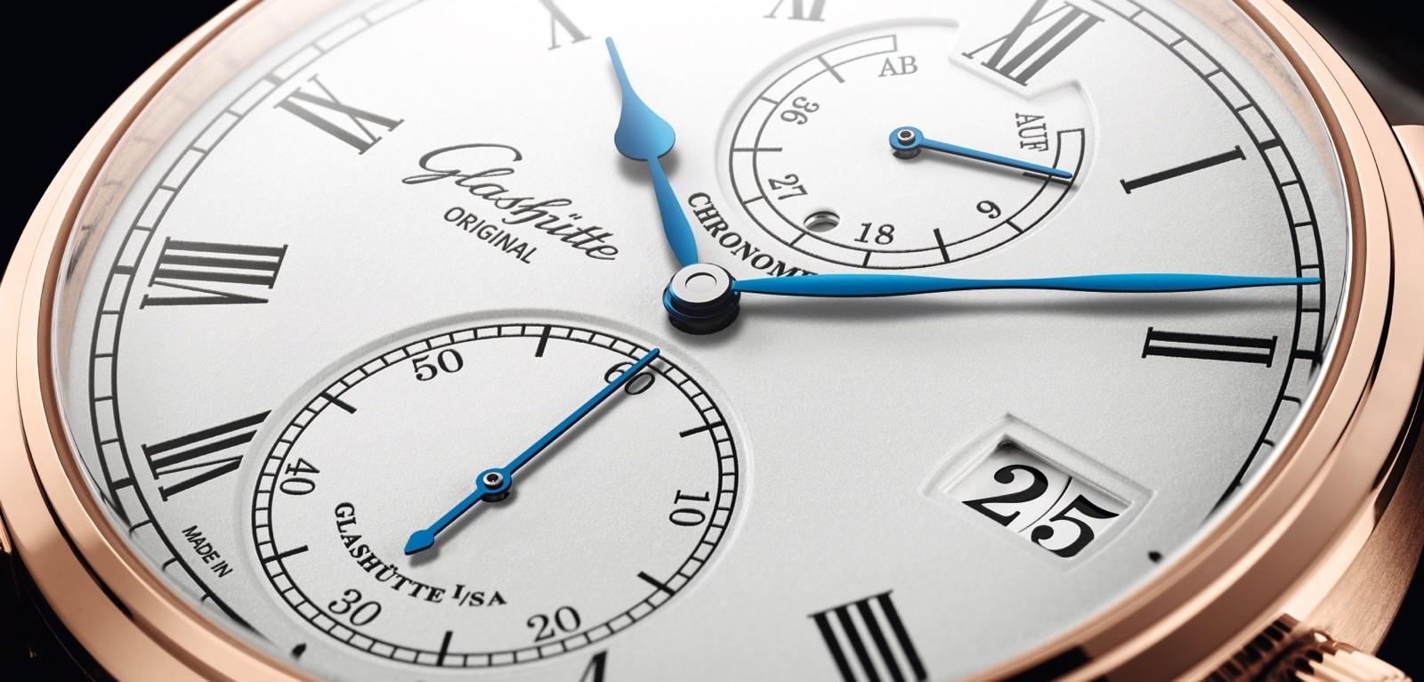 Nueva referencia para el Senator Chronometer de Glashütte Original