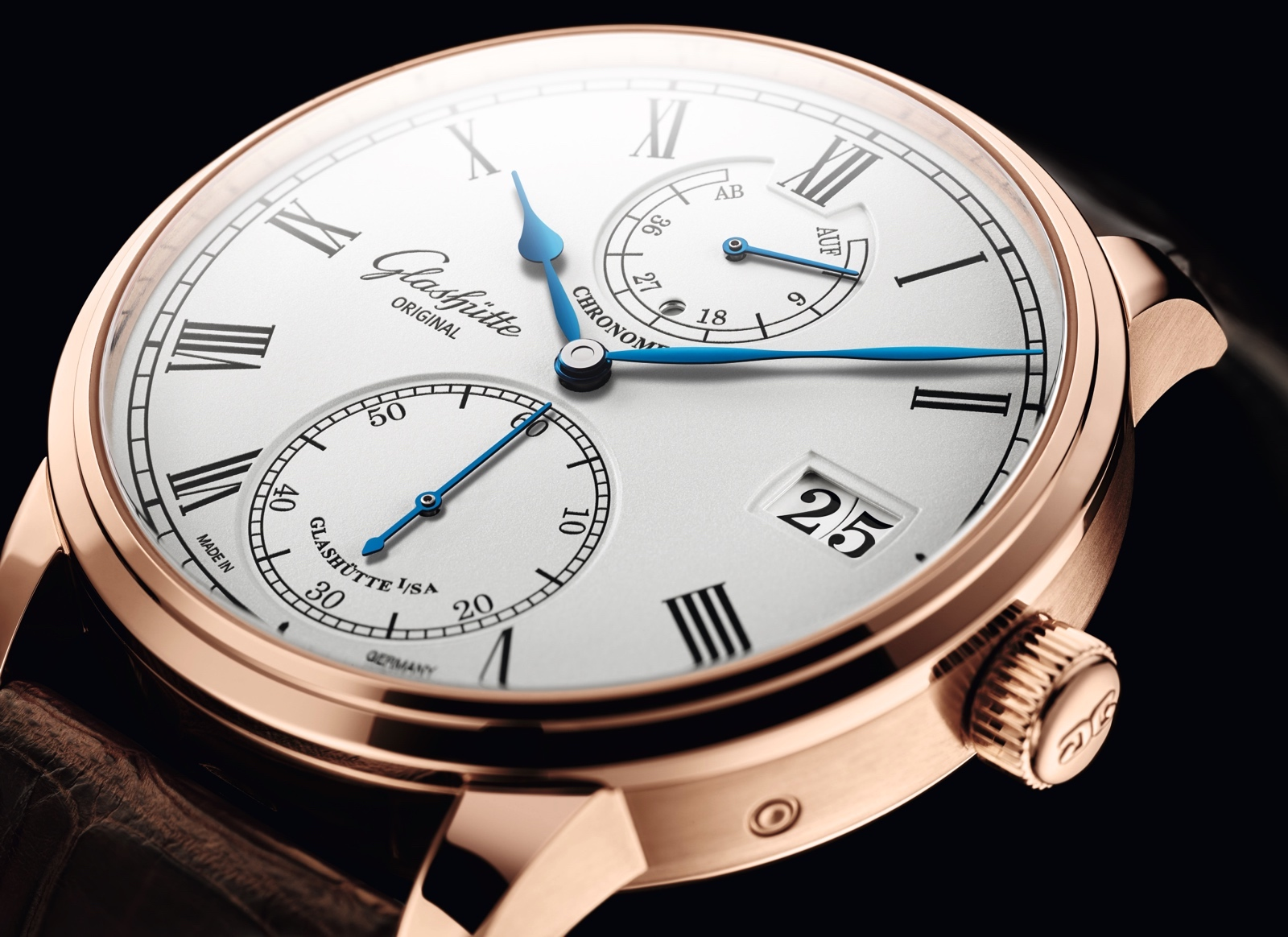 Glashütte Original Senator Chronometer 2019 Detail