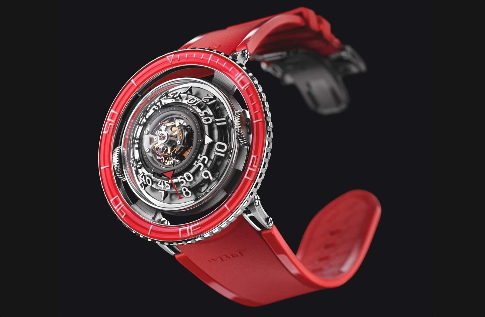 HM7 Aquapod Platinum Red Mood