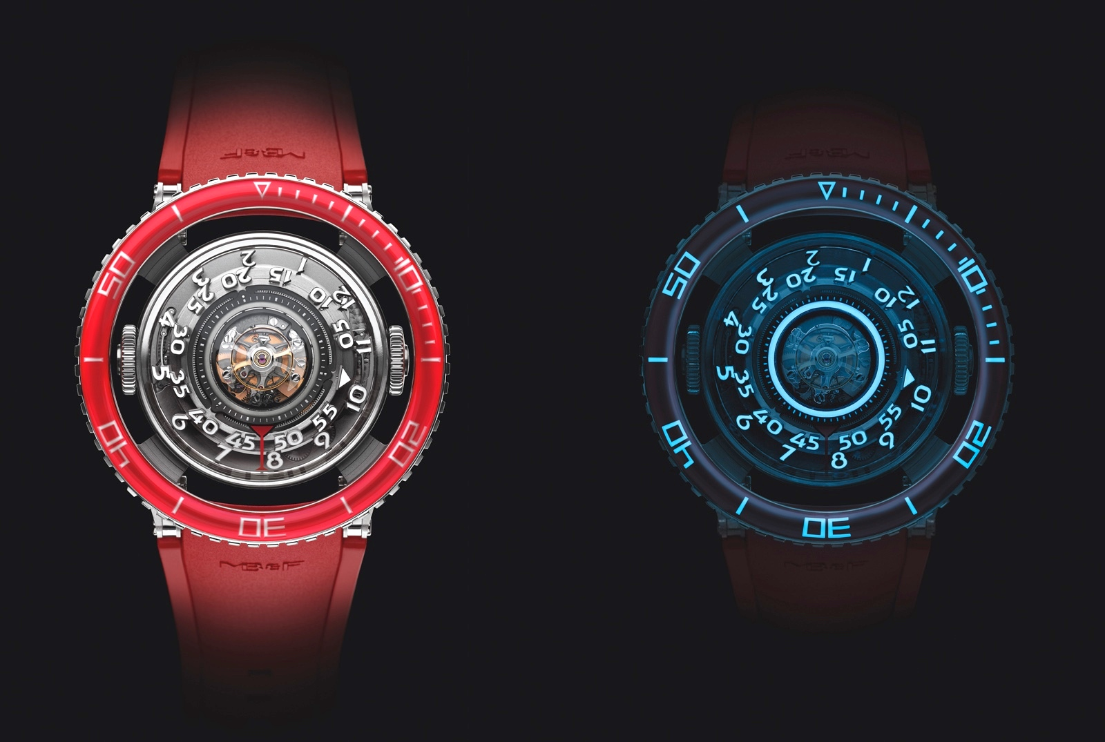 HM7 Aquapod Platinum Red SLNV
