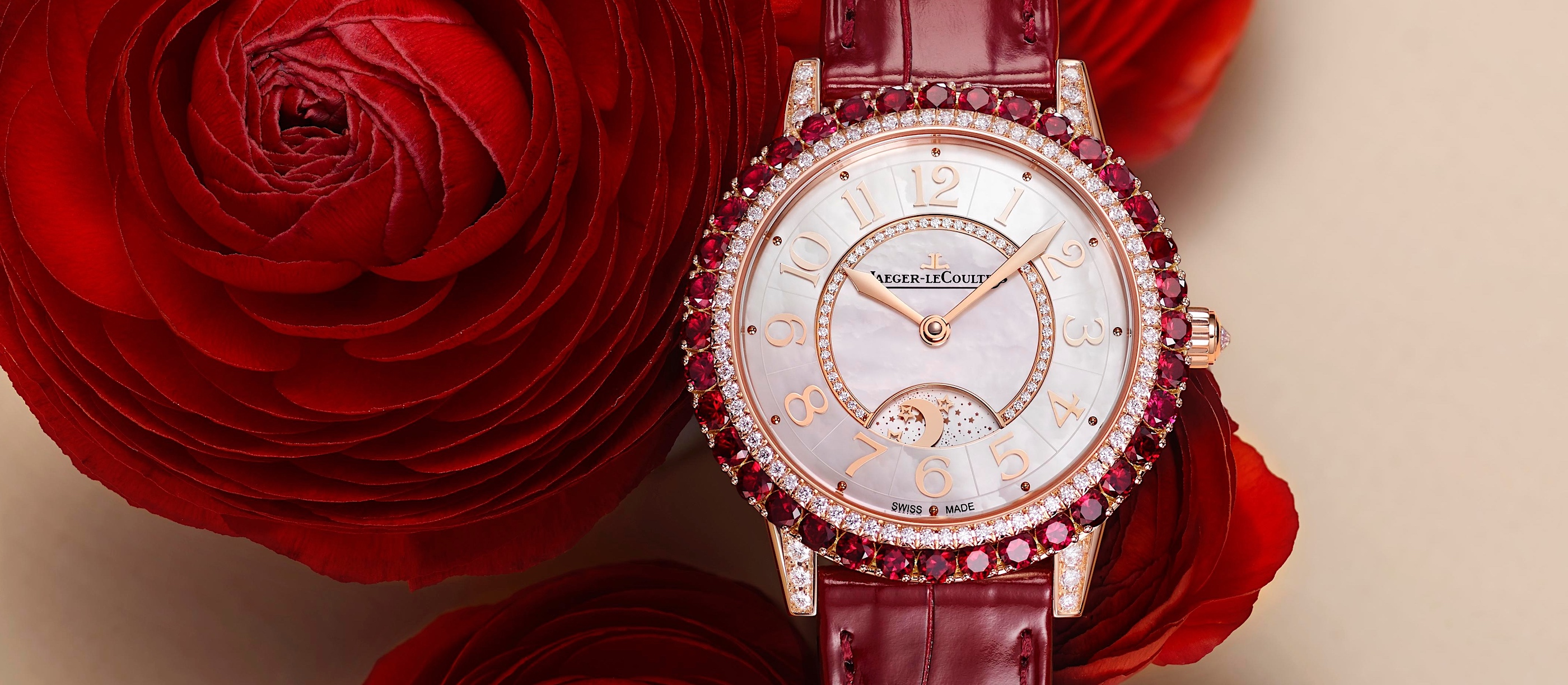 Jaeger-LeCoultre Dazzling Rendez-Vous Red - cover