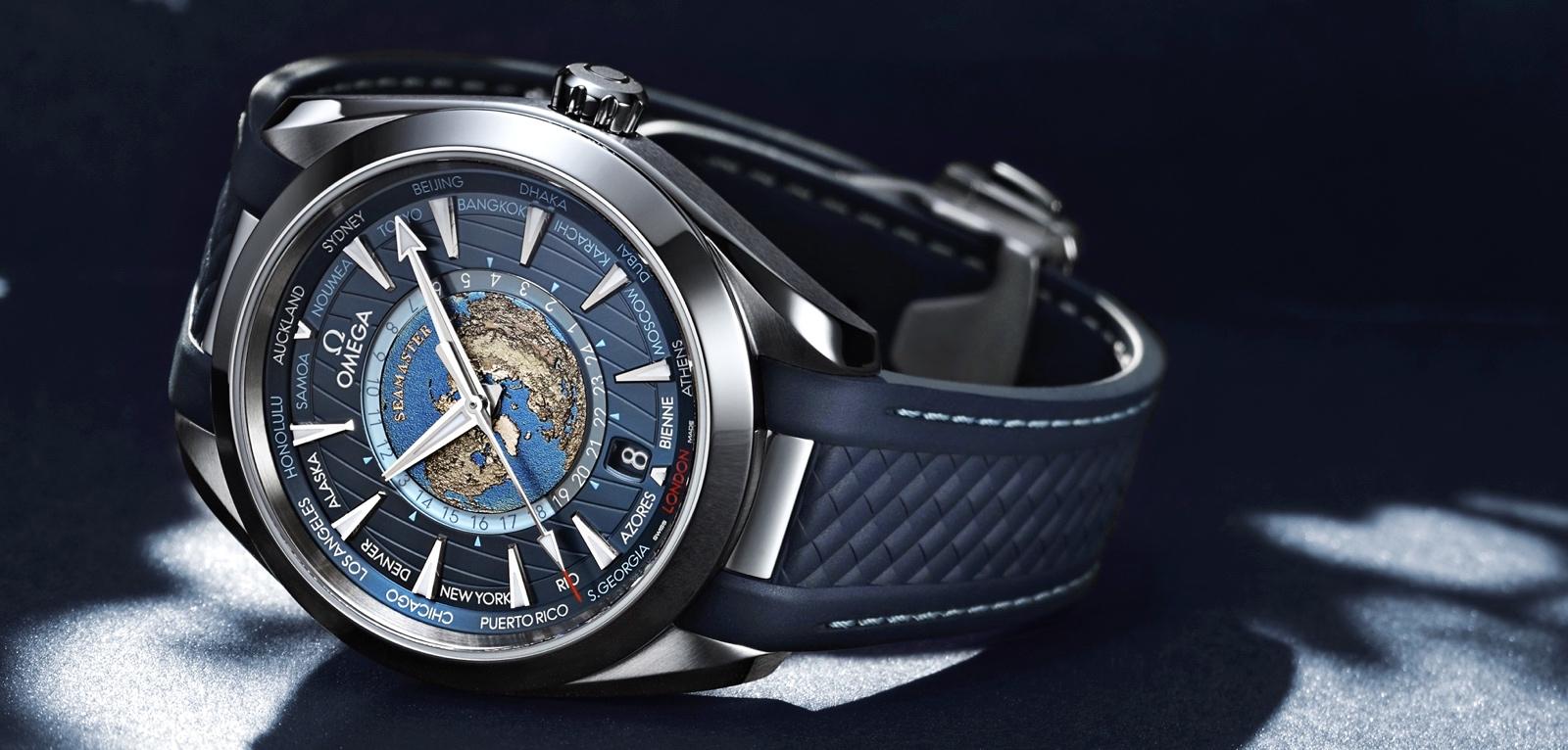 Omega Seamaster Aqua Terra Worldtimer Cover