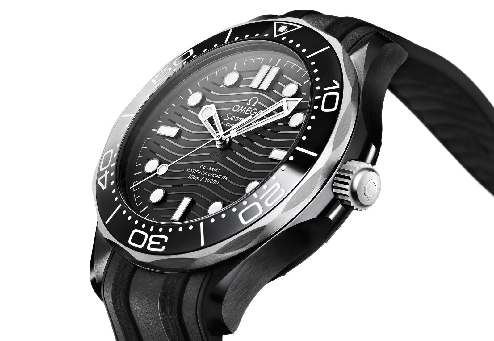 Omega Seamaster Diver 300M Cerámica Titanio