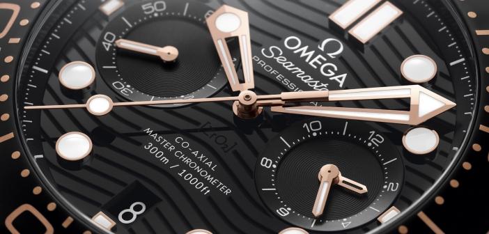 Omega Seamaster Diver 300M Chronograph.