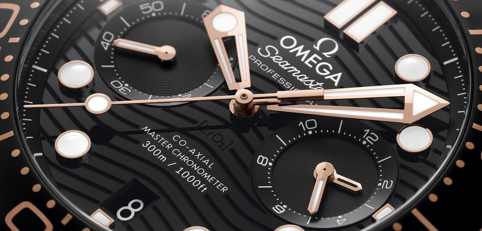 Omega Seamaster Diver 300M Chronograph Cover