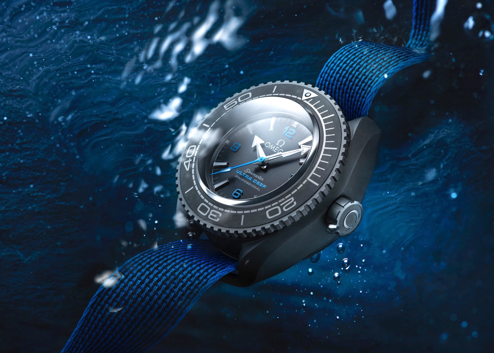 Omega Seamaster Planet Ocean Ultra Deep Professional Amb Water