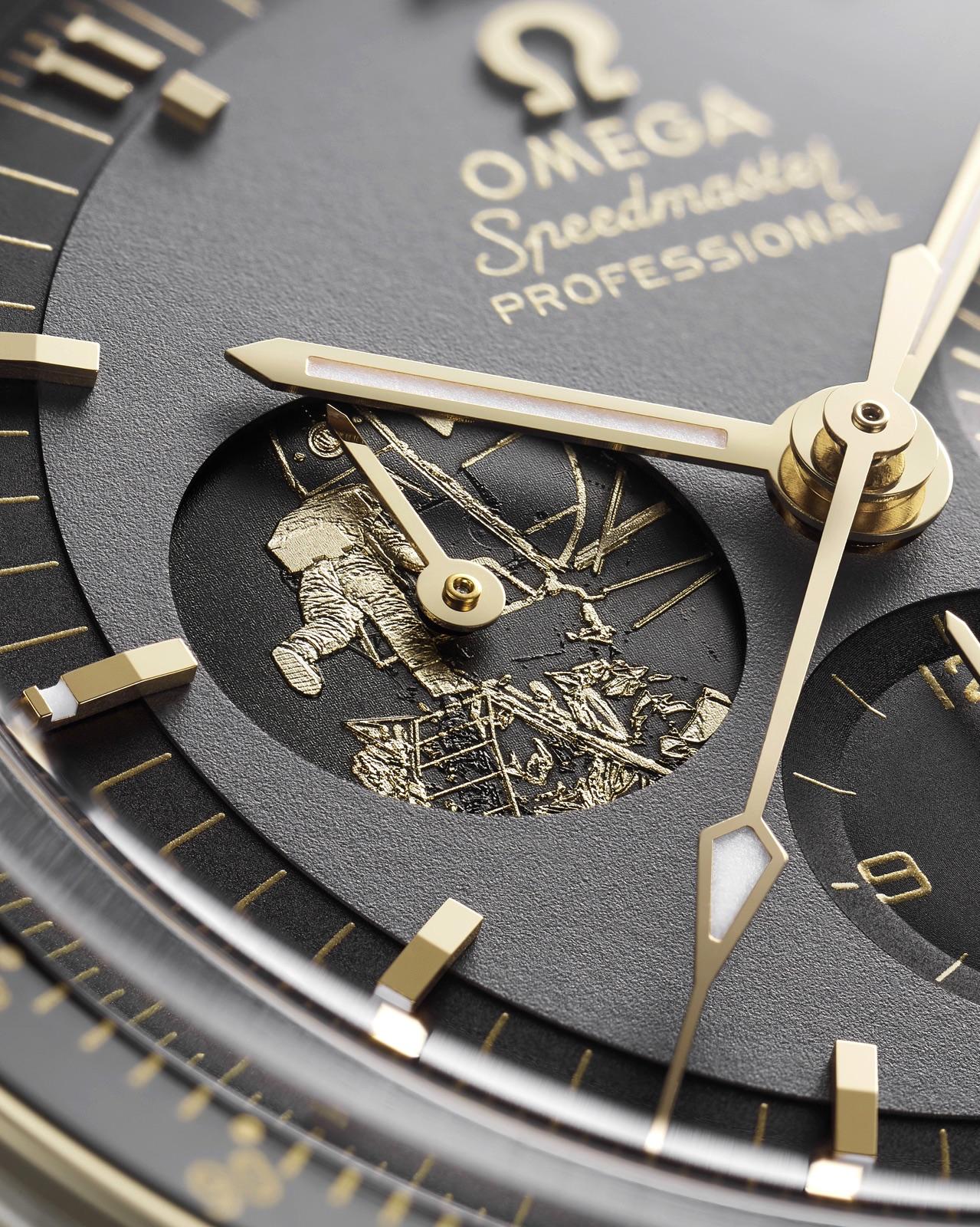 Omega Speedmaster Apollo 11 50 Anniversary LE Detalle