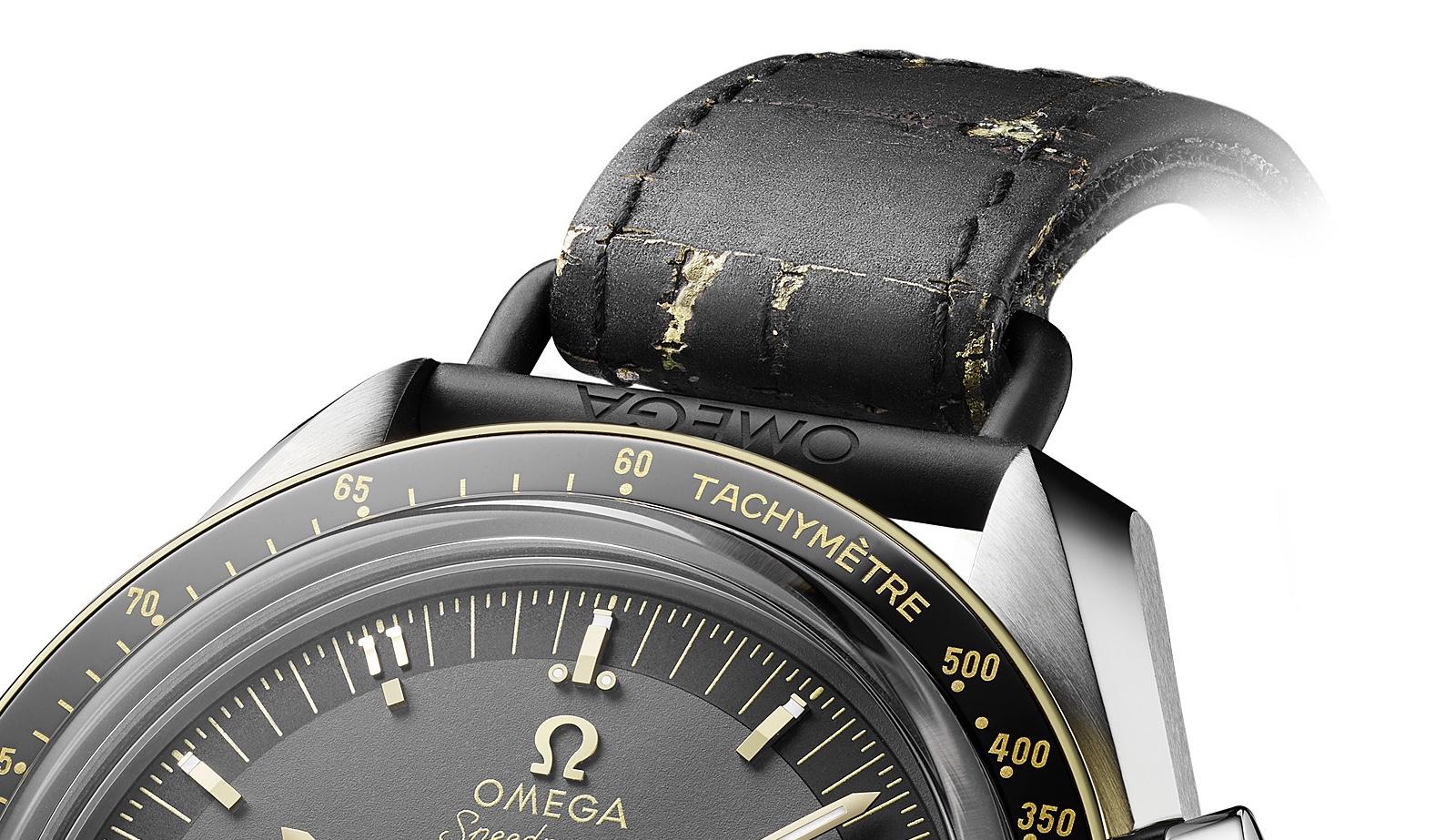 Omega Speedmaster Apollo 11 50 Anniversary LE Strap Detail