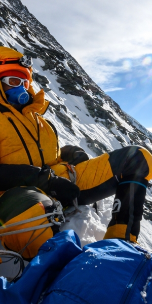 Vacheron Constantin y Cory Richards en el Everest
