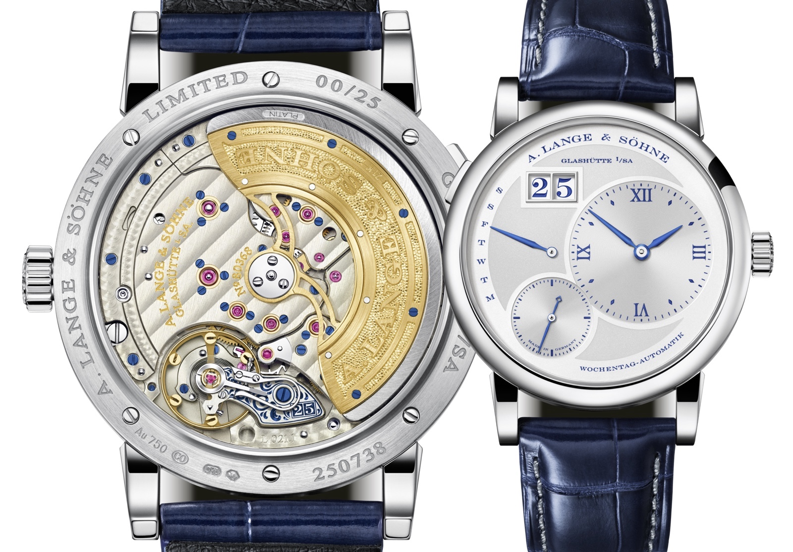 A. Lange & Söhne Lange 1 Daymatic 25th Anniversary Views