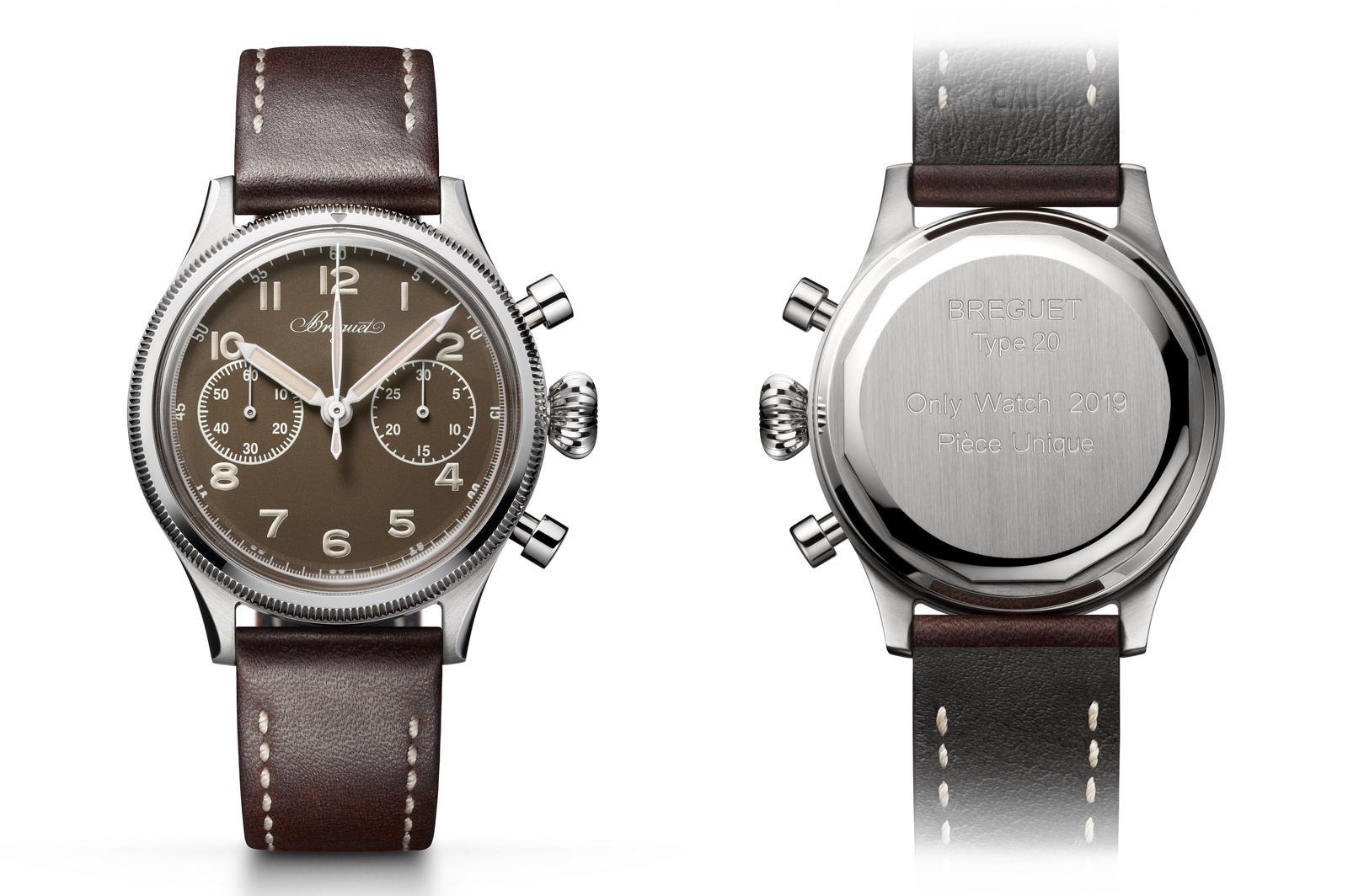 Breguet Type 20 Only Watch 2019 - front-back